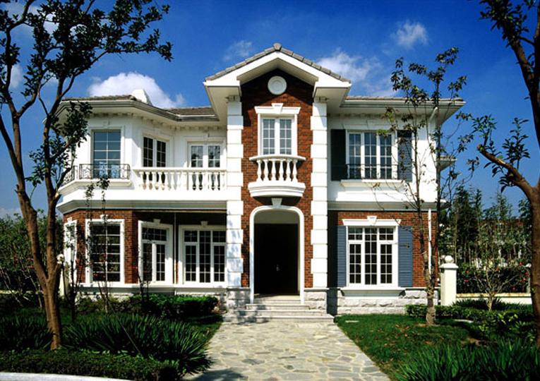 北美建筑风格-别墅立面品鉴-户型图下载-户型图设计