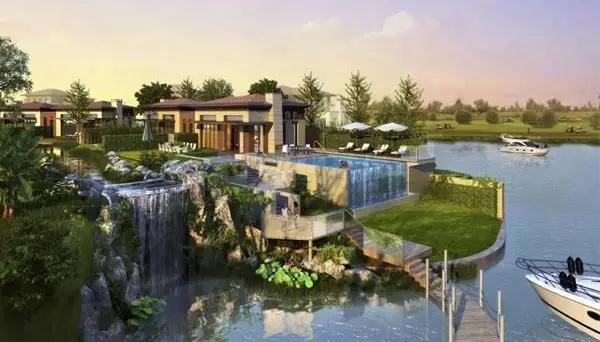 绿地长岛80 墅效果图 ·80 平米度假别墅 ·388 平米三重景观庭院