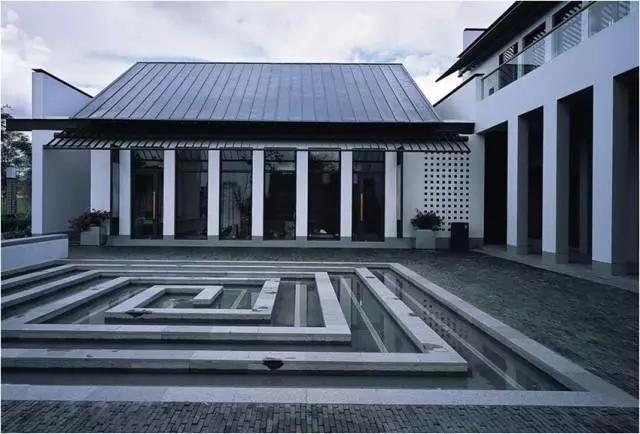 当代住宅建筑风格专题:新中式风格图片