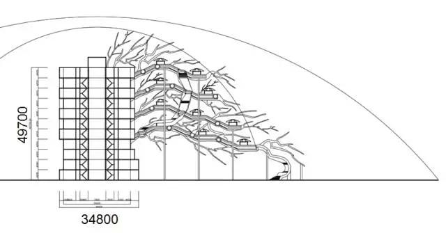 可容纳240个房间的庞大树屋你见过吗?