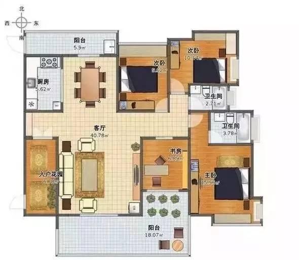 最合理的住宅户型设计标准分享!
