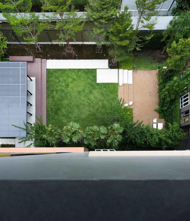 闹中取静-曼谷高层公寓小区景观设计-行业新闻-户型