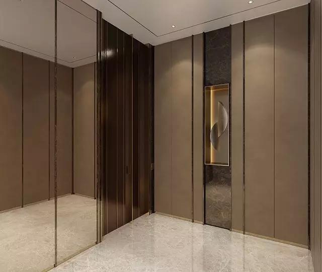 一梯一户电梯口实景图 一梯一户电梯口装修图 自建房一梯两户户型图