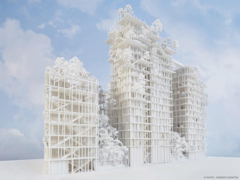 世界最高木结构塔楼-行业新闻-户型图