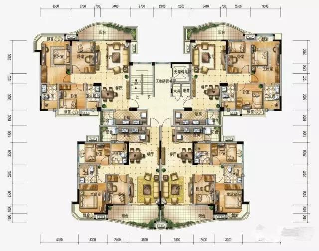 4层洋房设计图纸