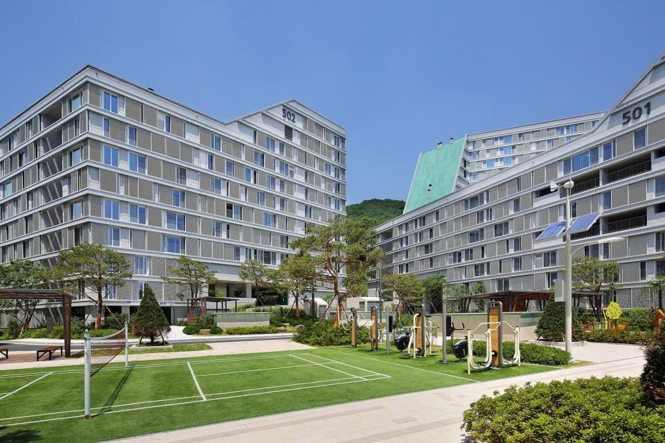 塔楼街区,韩国保障性住宅项目