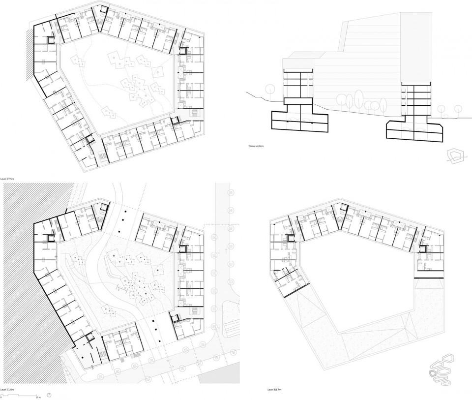 塔楼街区,韩国保障性住宅项目-行业新闻-户型图下载