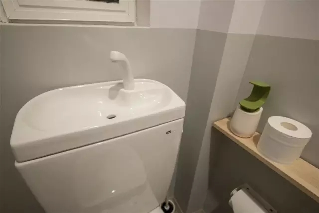 卫生间可循环使用水的马桶