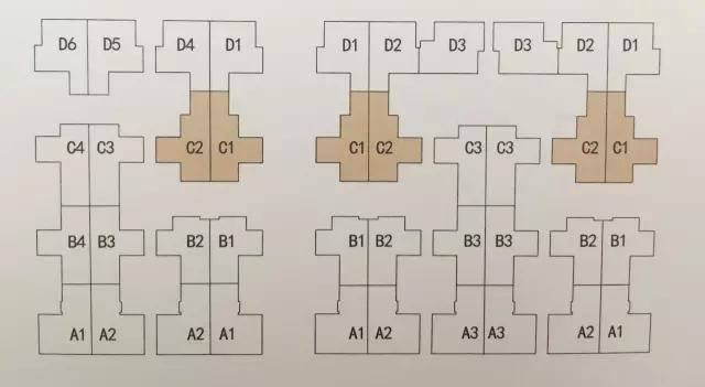 皇宫别墅户型图