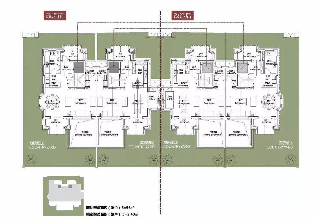 排屋地下室平面设计图
