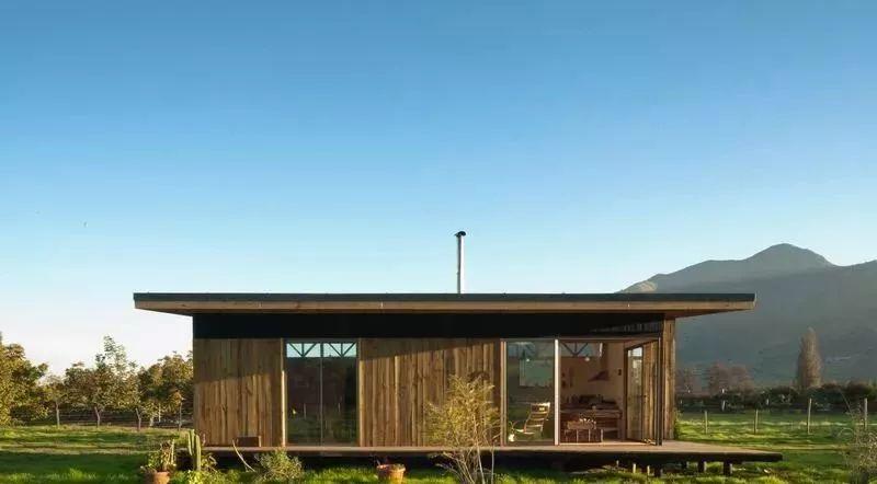 part一10个农村住房:70平方米/约750平方英尺